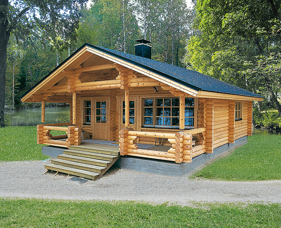 Eco house passive house producer finnish log houses for Ecological home